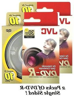 Jvc Vdr14G10Sp 8Cm Dvd-R 10-Ct Spindle