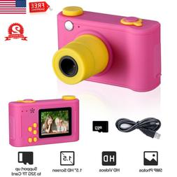 "Kids Digital Camera 5.0MP 1.5"" LCD HD Screen Camcorder Child"
