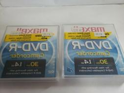 Maxell 8cm Camcorder DVD-R, 10-Pack