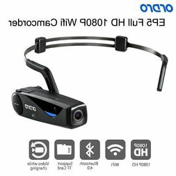 ORDRO EP5 Head Action Mini Portable Full HD 1080P Wifi Video