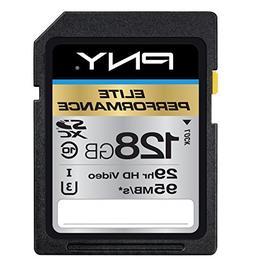 PNY P-SDX128U395-GE Elite Performance 128 GB High Speed SDXC