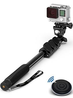Professional 10-In-1 Monopod Selfie Stick For All GoPro Hero