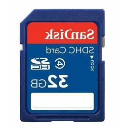SanDisk Standard - Flash memory card - 32 GB - Class 4  - SD