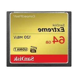 Sandisk Extreme CompactFlash Memory Card - 64 GB
