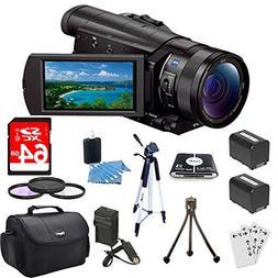 Sony FDRAX100/B FDR-AX100 FDRAX100 AX100 4K Video Camera w/
