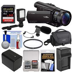 Sony Handycam FDR-AX100 Wi-Fi 4K HD Video Camera Camcorder w