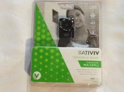 VIVITAR Wearable Camera TimeLapse Dashcam Rechargeable Lifec