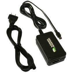 Wasabi Power AC Adapter for Sony AC-L200, AC-L200C, AC-L25,