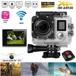 A1 4k Full HD Sports Action Camera Waterproof Diving DVR Cam