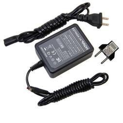 HQRP AC Adapter for Samsung HMX-H320 HMX-Q10 HMX-Q10BN HMX-Q