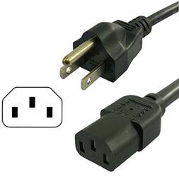 HQRP 10ft AC Power Cord for HP Omni 100-5106la 100-5111la 10