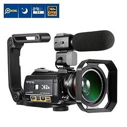 Ordro AC3 4K Camcorder 3.1 IPS Ultra HD WiFi Video Camera