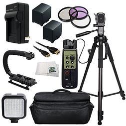 Professional Accessory Package For Canon VIXIA HF G30 HD Pro