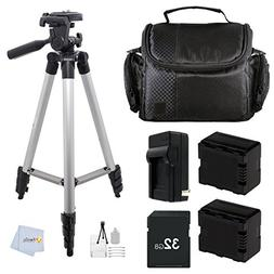 Accessory Kit for Panasonic HC-X920 3D Ready HD 3MOS Digital