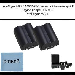 Accessory Kit for Panasonic Digital Cameras with 2 Replaceme