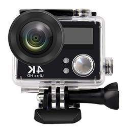 Sports Action Camera, Webat V3 4K Wifi Sports Action Camera