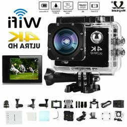 Ultra 4K Full HD 1080P Waterproof Outdoor Sport Camera WiFi