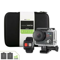 4K Action Camera Dual Screen Ultra HD Camcorder + Remote + A