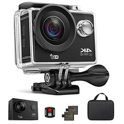 Action Camera, Xtreme 16MP 4K Ultra HD WiFi Waterproof Sport
