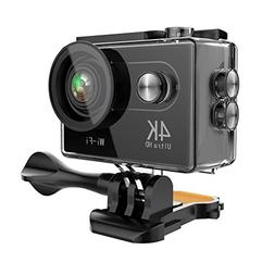 Ansot Action Camera 4K WiFi 12MP Waterproof Sports Camcorder