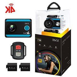 4K Action Camera Wifi - XME Ultra HD Waterproof Sports Camer
