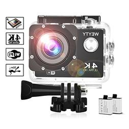 d1014358b5f6 Action Camera WeyTy X6S 4K 30m Underwater Camer
