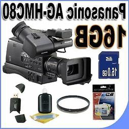 Panasonic AG-HMC80 3MOS AVCCAM HD Shoulder-Mount Camcorder w