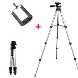 Aluminum Camera Camcorder Portable Tripod Stand Holder For C