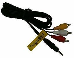 UpBright AV Cable Cord for Hitachi Sharp Viewcam Camera Camc