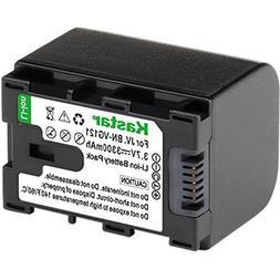 Battery Pack for JVC BN-VG107, BN-VG108, BN-VG114, BN-VG121,