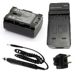 Battery Charger for JVC Everio GZ-HM30AU, GZ-HM30BU, GZ-HM30
