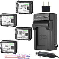 Kastar Battery AC Charger for Canon BP-808 CG-800 Canon VIXI