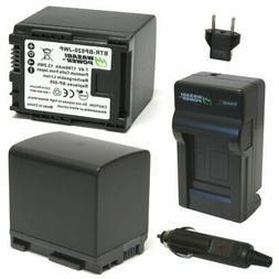 Wasabi Power Battery  and Charger for Canon BP-820 and Canon