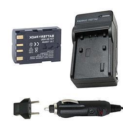Battery and Charger for JVC GR-D30, GR-D33, GR-D70 MiniDV Ca