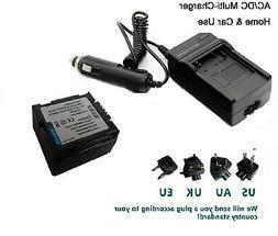 Battery + Charger for Hitachi DZ-MV780A DZ-MV750MA DZ-MV730A