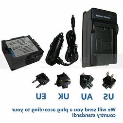 Battery + Charger for Hitachi DZ-GX5020A GX5020, DZ-GX5080A