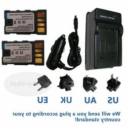 BN-VF808 BN-VF808U Battery/Charger for JVC Everio GZ-MG330 G