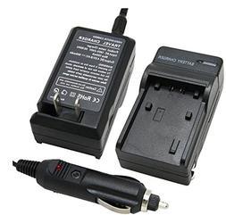 Uupower Battery Charger for HITACHI DZ-GX5020A DZ-MV730A DVD