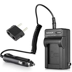 Kastar Battery Charger Kit fits Sony NP-FH30 NP-FH40 NP-FH50