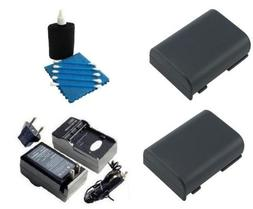 SAVEoN Battery and Charger Kit includes Two Spare NB2L Batte