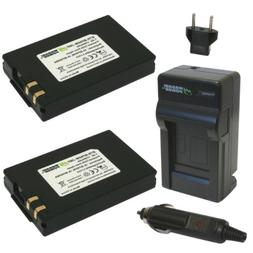 Wasabi Power Battery and Charger Kit for Samsung IA-BP80W, I