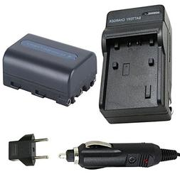 Battery and Charger Sony DSR-PDX10 DSR-PDX10P Professional 3
