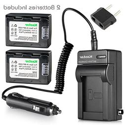 Kastar Battery 2X and Charger for Samsung IA-BP105R IA-BP210