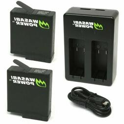 Wasabi Power Battery  & Dual Charger for GoPro HERO5, HERO 5