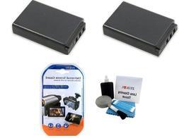 2 Pack Battery Kit For SANYO Xacti DMX-FH11, DMX-HD1010, DMX