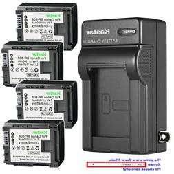 Kastar Battery Wall Charger for Canon BP-808 CG-800 & Canon