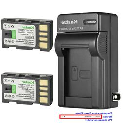Kastar Battery Wall Charger for JVC BN-VF808 BN-VF808U & JVC
