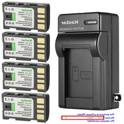 Kastar Battery Wall Charger for JVC BN-VF808 BN-VF808U & JVC