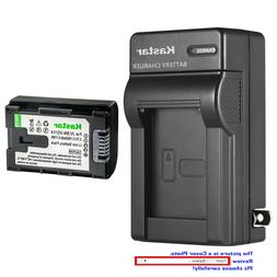 Kastar Battery Wall Charger for JVC BN-VG114 & JVC Everio GZ