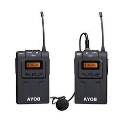 HATCHMATIC BOYA by-WM6 Professional Wireless Microphone Syst